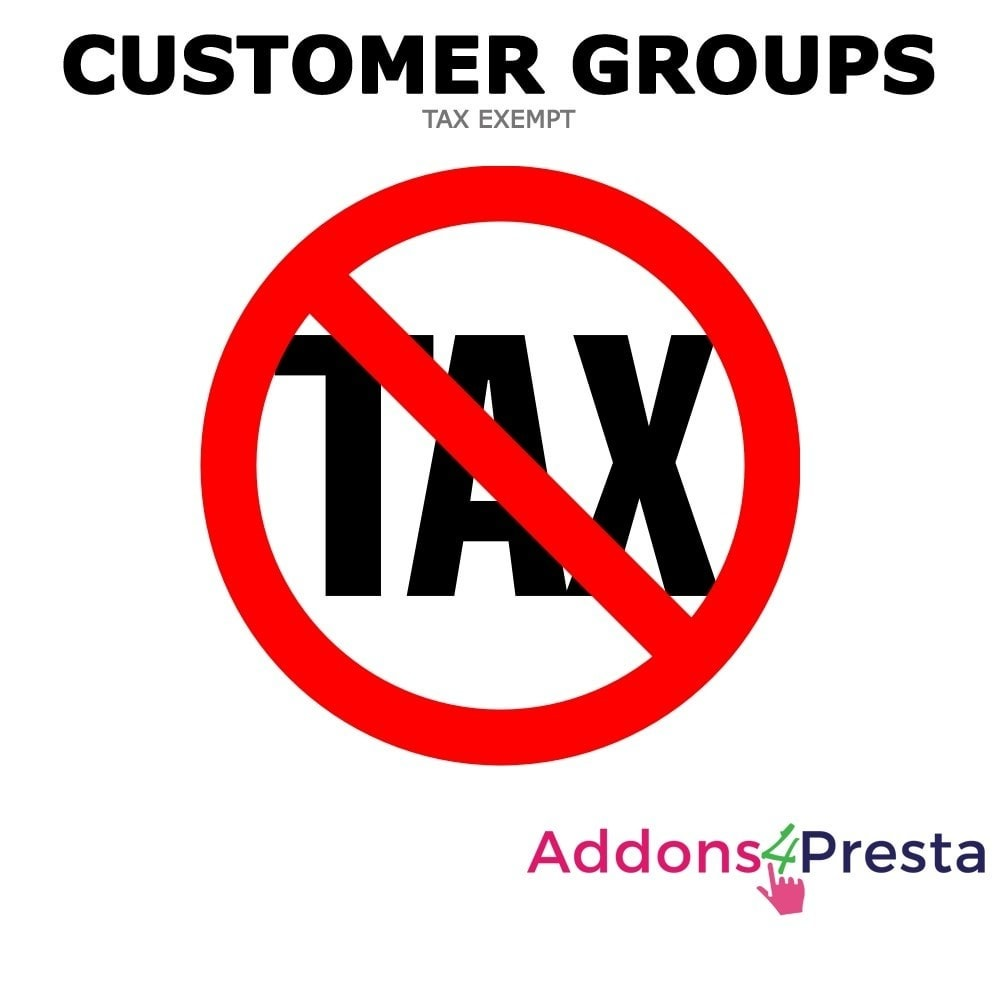 module - Price Management - Tax Exclude Customer Groups - 1