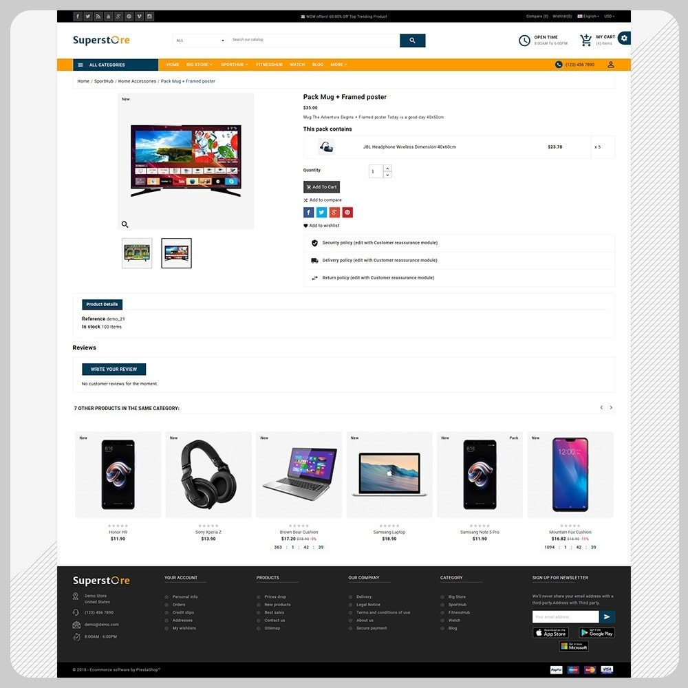 theme - Electronics & Computers - Big Store – The Electronics Large Shop - 4