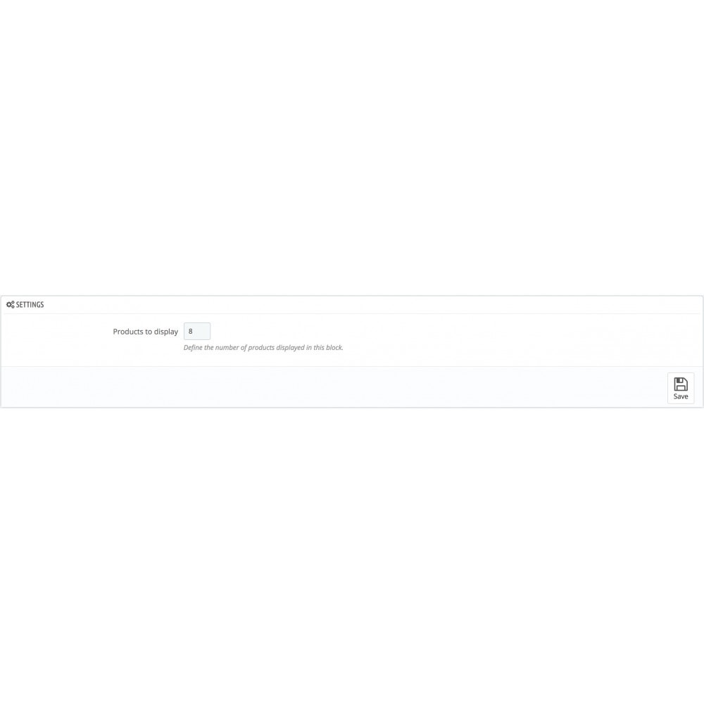 module - Outils de navigation - Viewed products block - 2