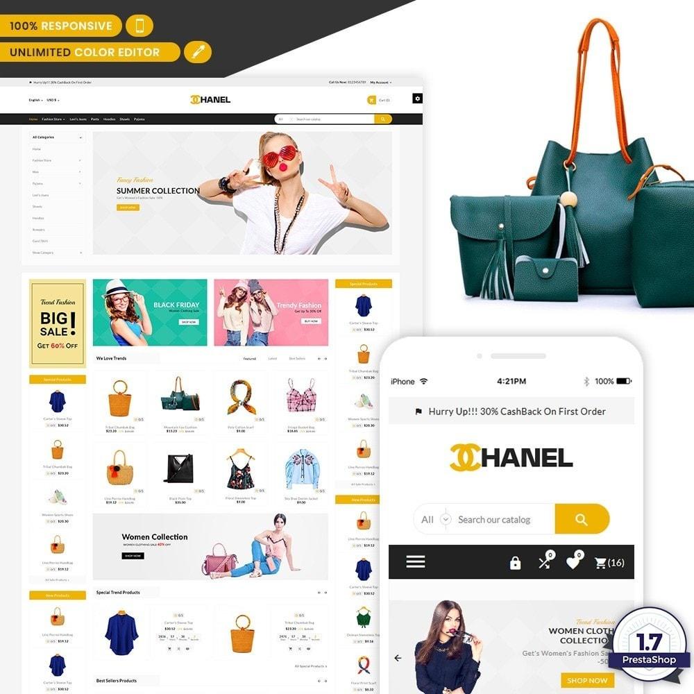 theme - Home & Garden - Chanel - Stylish Fashion Cloth Shop - 1