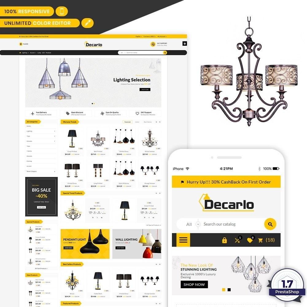 theme - Home & Garden - Decorelo - Lighting Shop - 1