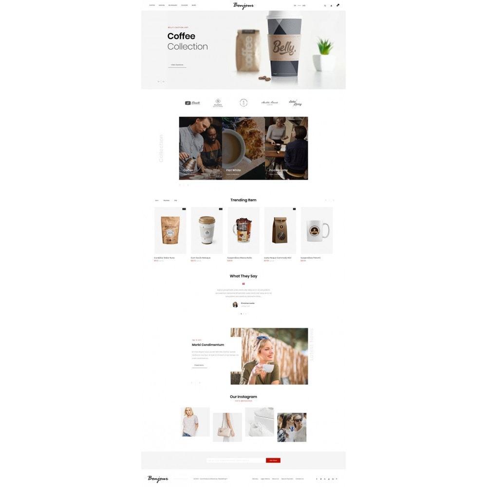 theme - Cibo & Ristorazione - Bonjour - Coffee Store - 2
