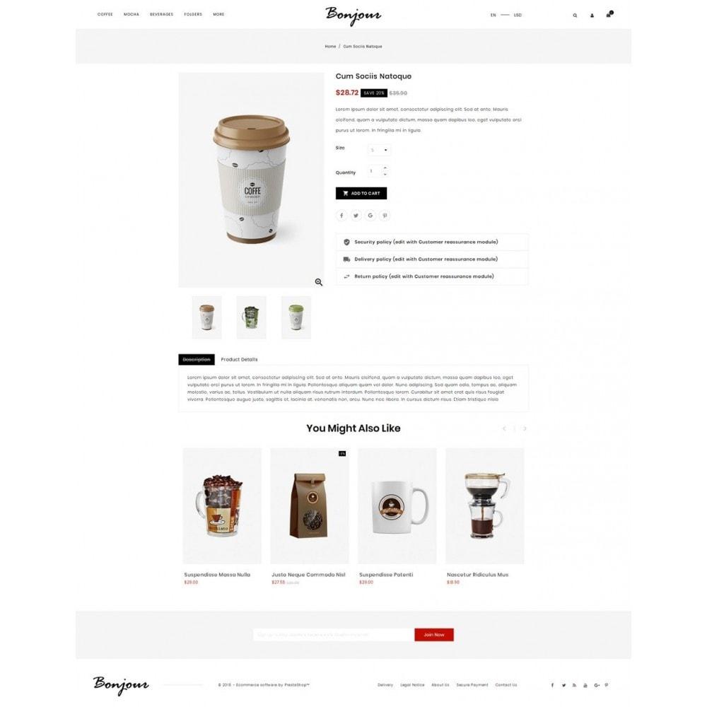 theme - Cibo & Ristorazione - Bonjour - Coffee Store - 4