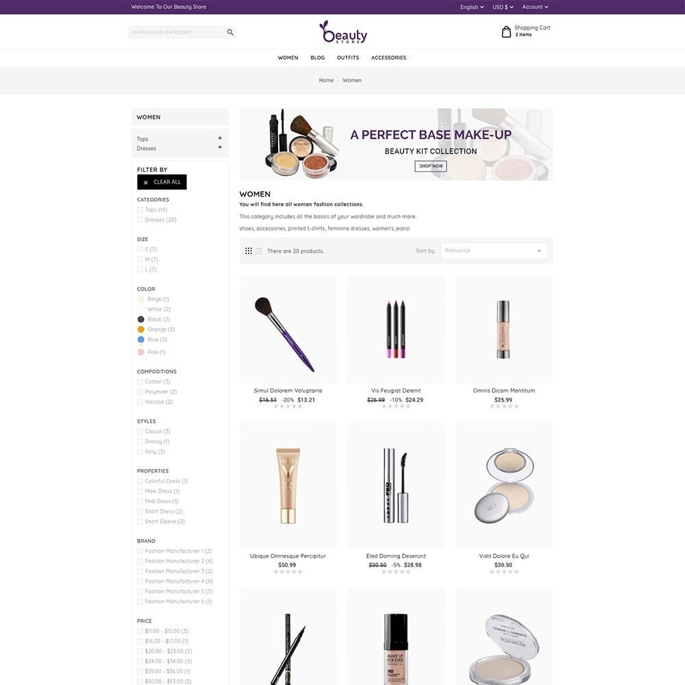 theme - Salute & Bellezza - Beauty Store - 5