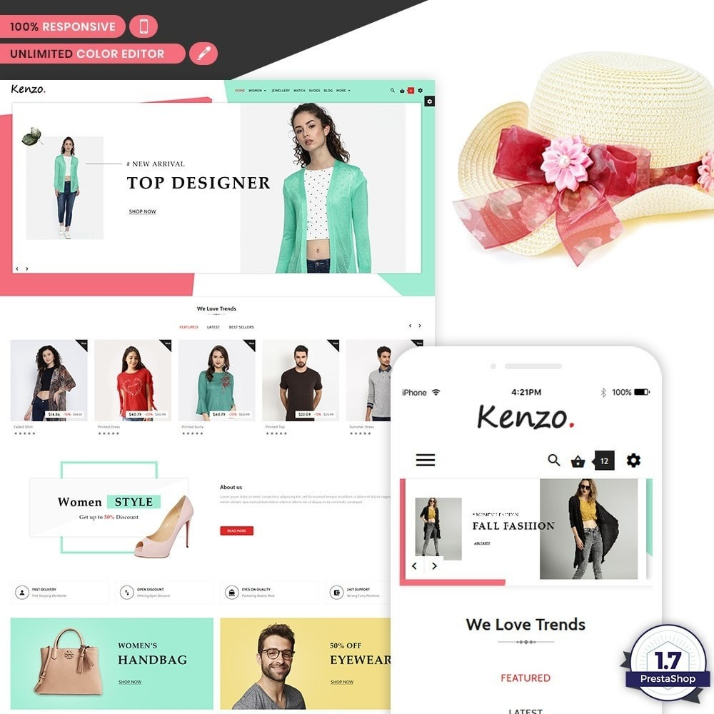 theme - Fashion & Shoes - Kenzo Stylo Fashion Shop - 1