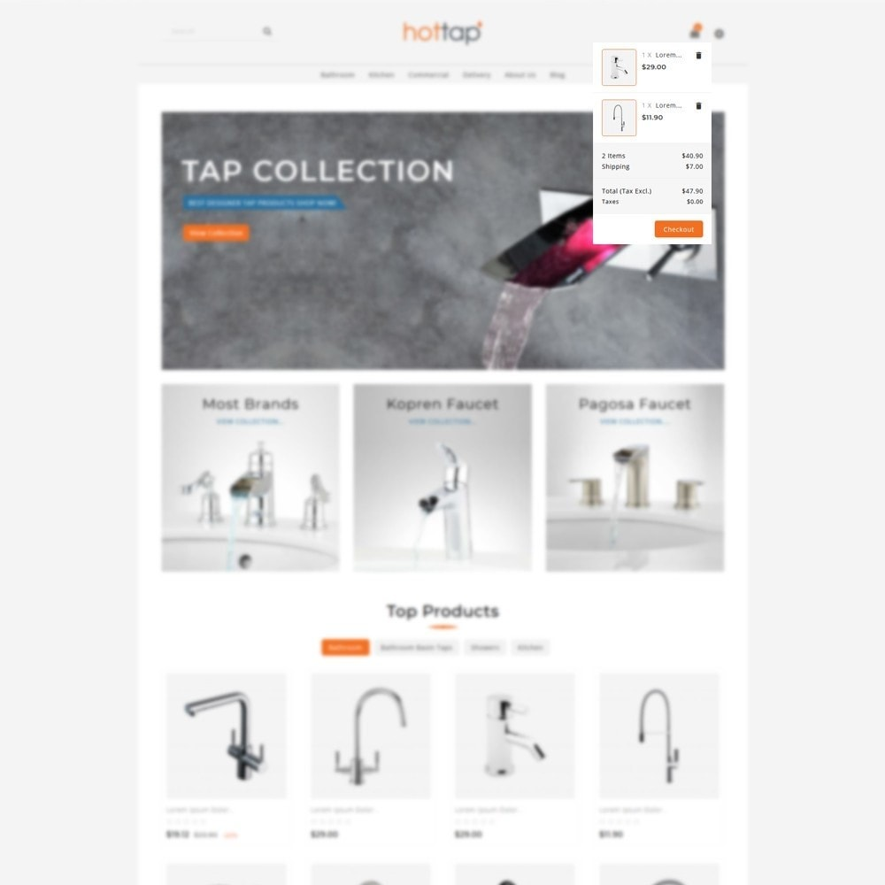 theme - Дом и сад - Hot tap - The Tap Store - 6