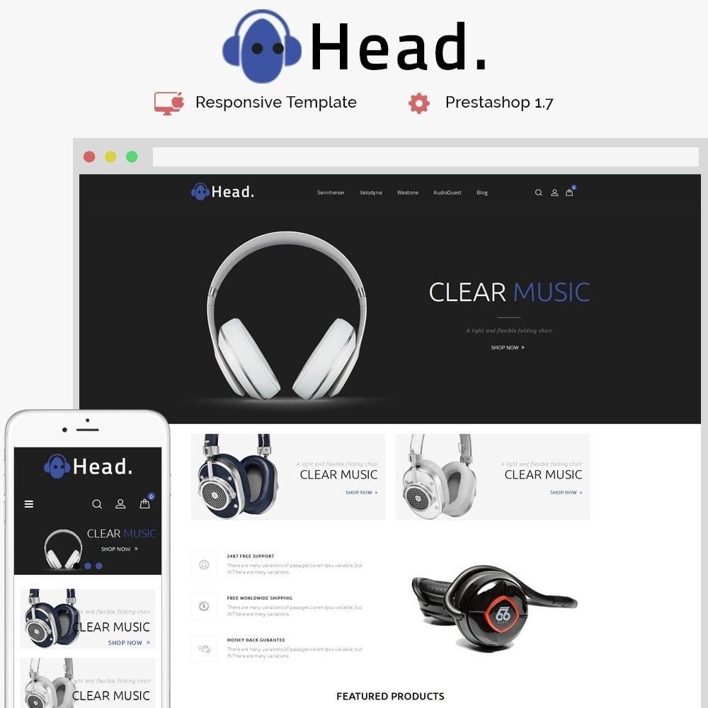 theme - Electronics & Computers - Headphone Demo Store - 1