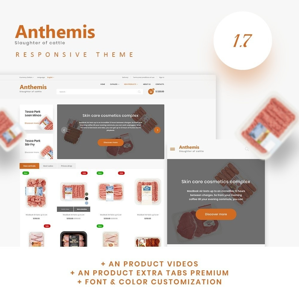 theme - Lebensmittel & Restaurants - Anthemis - 1
