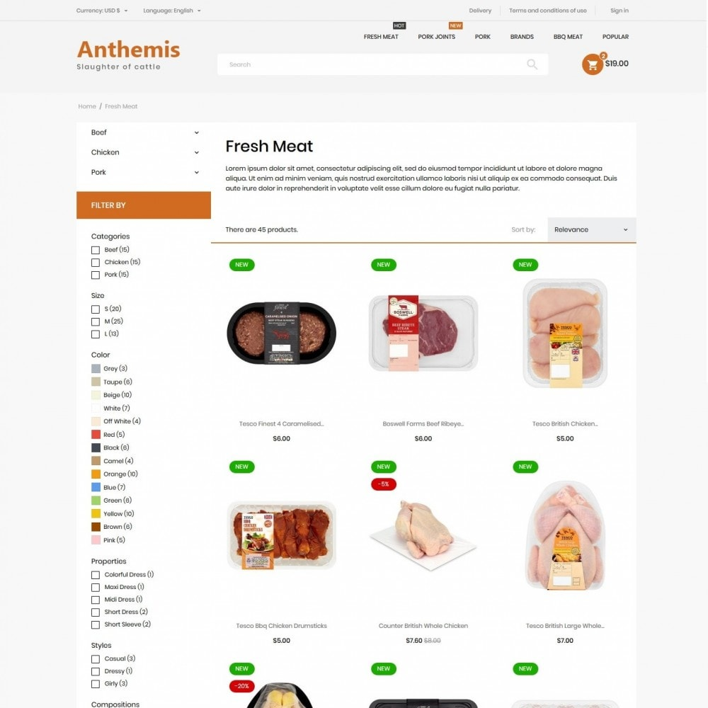 theme - Lebensmittel & Restaurants - Anthemis - 5