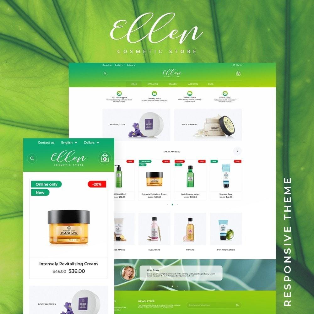 theme - Health & Beauty - Ellen Cosmetics - 1