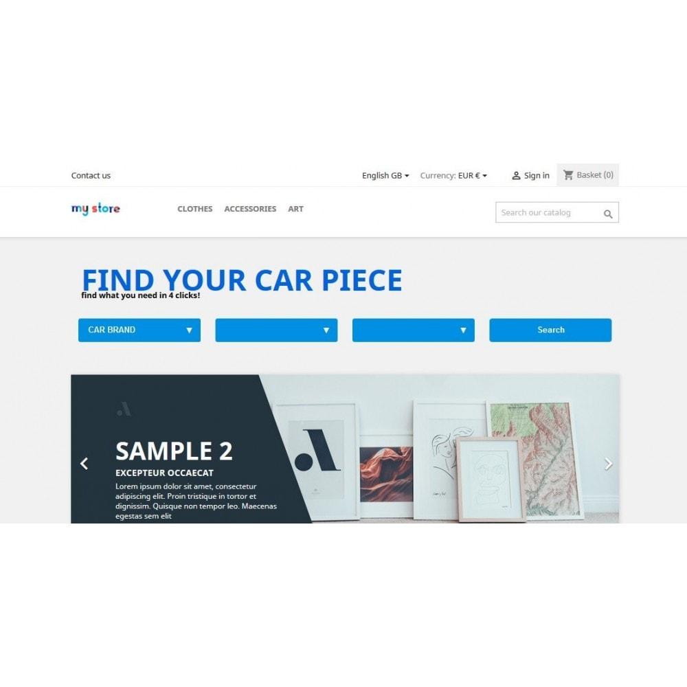 module - Menu - Car Menu Selector - 1