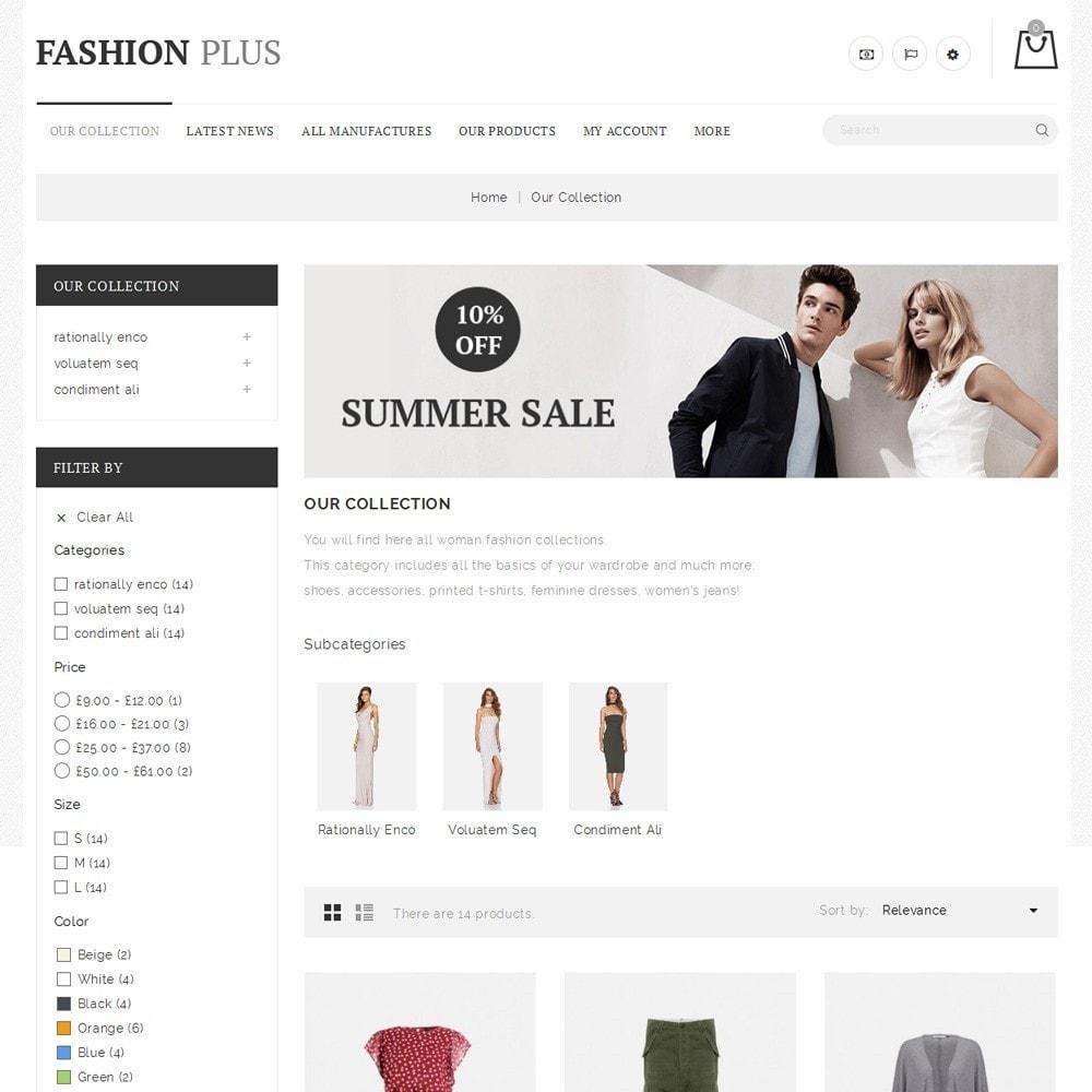 theme - Fashion & Shoes - Fashion Plus - The Fashion Store - 4