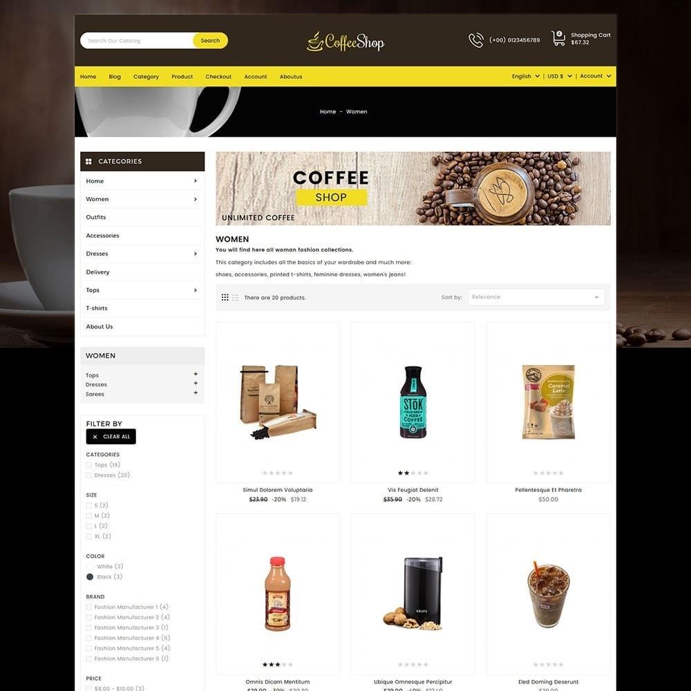 theme - Bebidas & Tabaco - Coffee Shop - 2