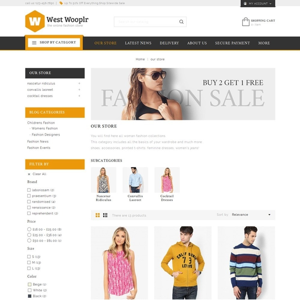 theme - Fashion & Shoes - West Wooplr - The Fashion Store - 4