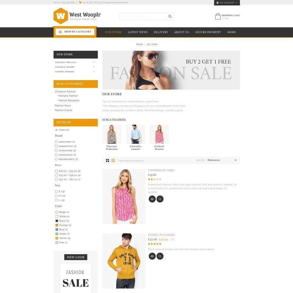 theme - Fashion & Shoes - West Wooplr - The Fashion Store - 5
