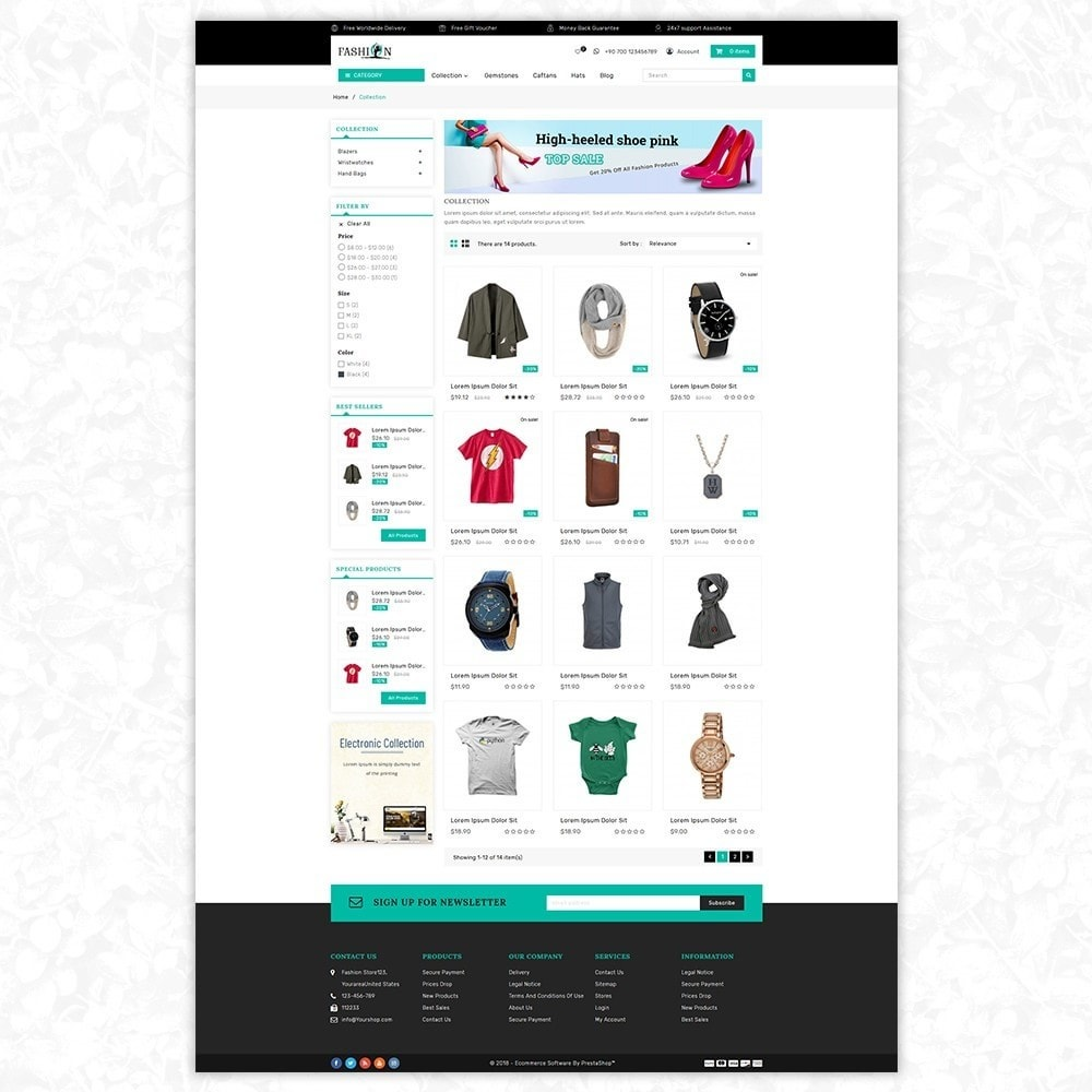 theme - Mode & Chaussures - Fashion shop - 3