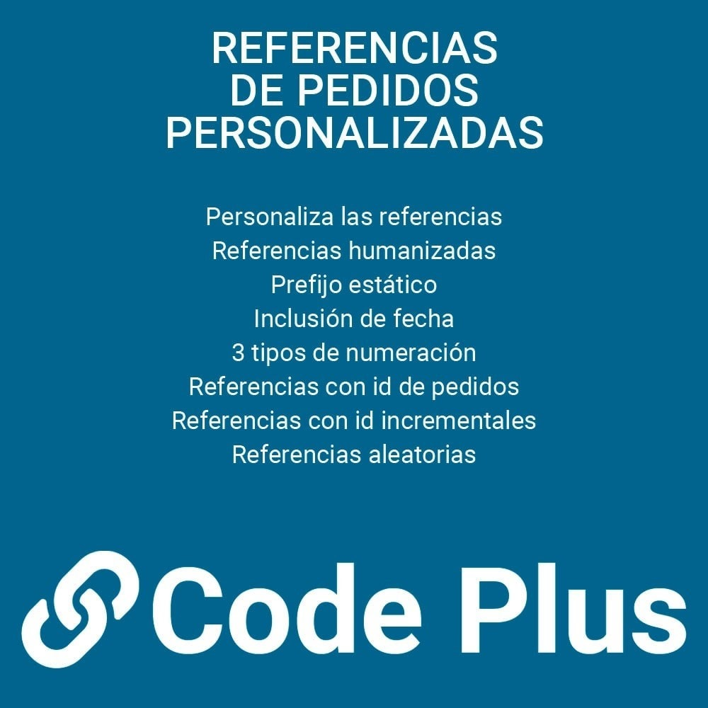 module - Gestión de Pedidos - Referencias de pedidos personalizadas - 1