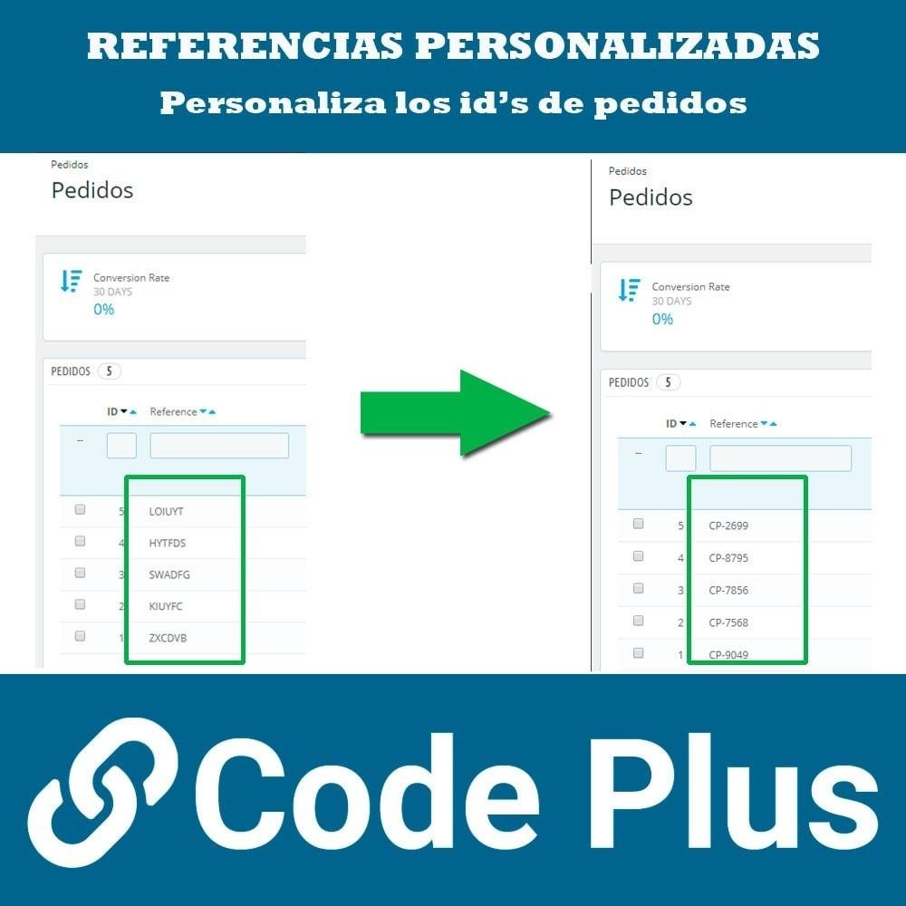 module - Gestión de Pedidos - Referencias de pedidos personalizadas - 3