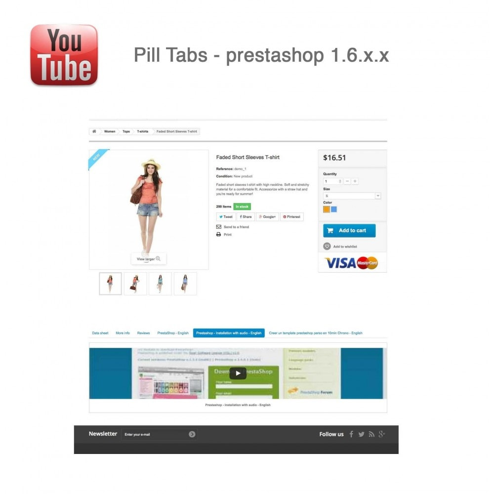 module - Bloques, Pestañas y Banners - Responsive Youtube Tabs + Block Last YouTube Video - 22