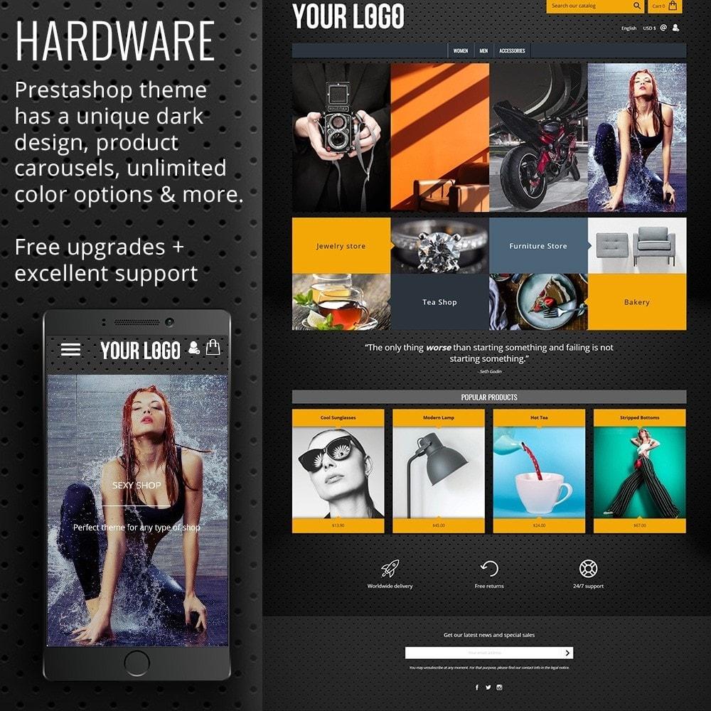 theme - Eletrônicos & High Tech - Hardware Dark - 1