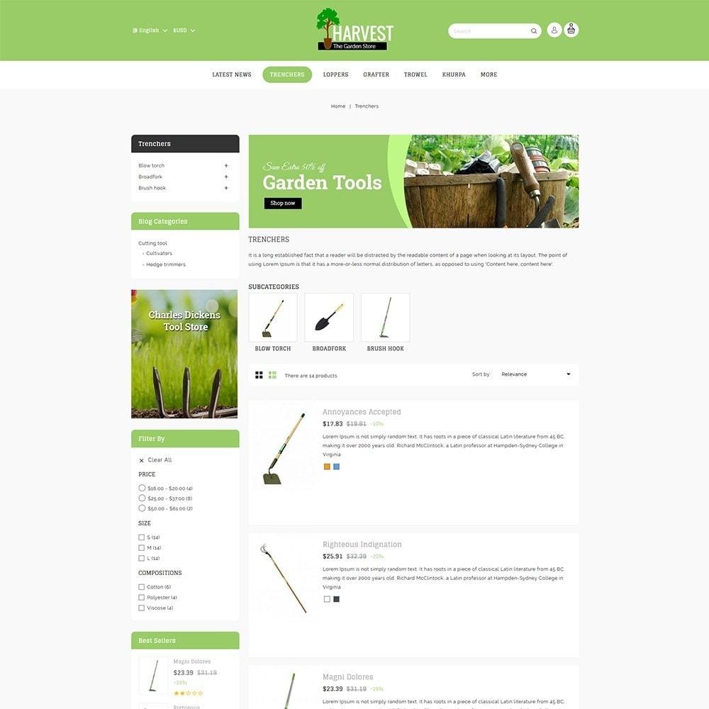 theme - Home & Garden - Harvest - The Gardening Store - 5