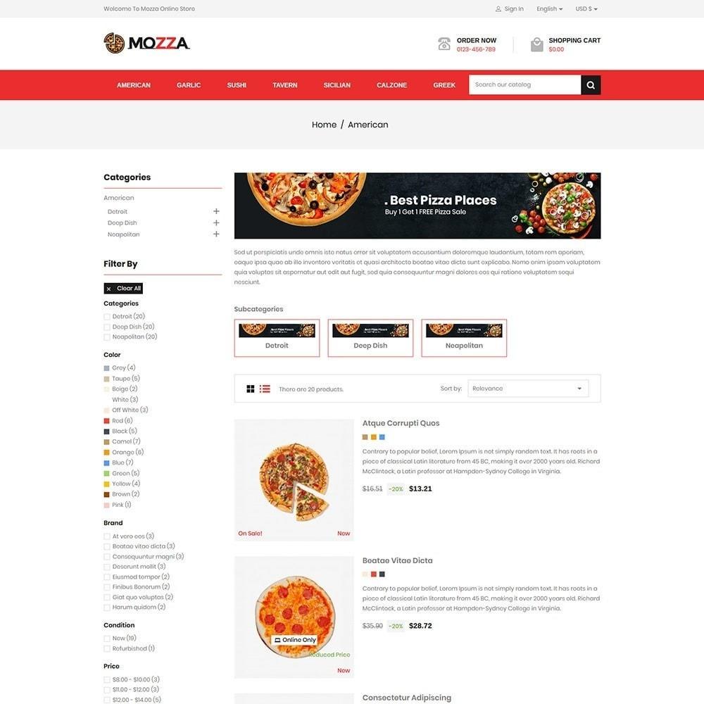 theme - Alimentos & Restaurantes - Mozza - Pizza Online Store - 4
