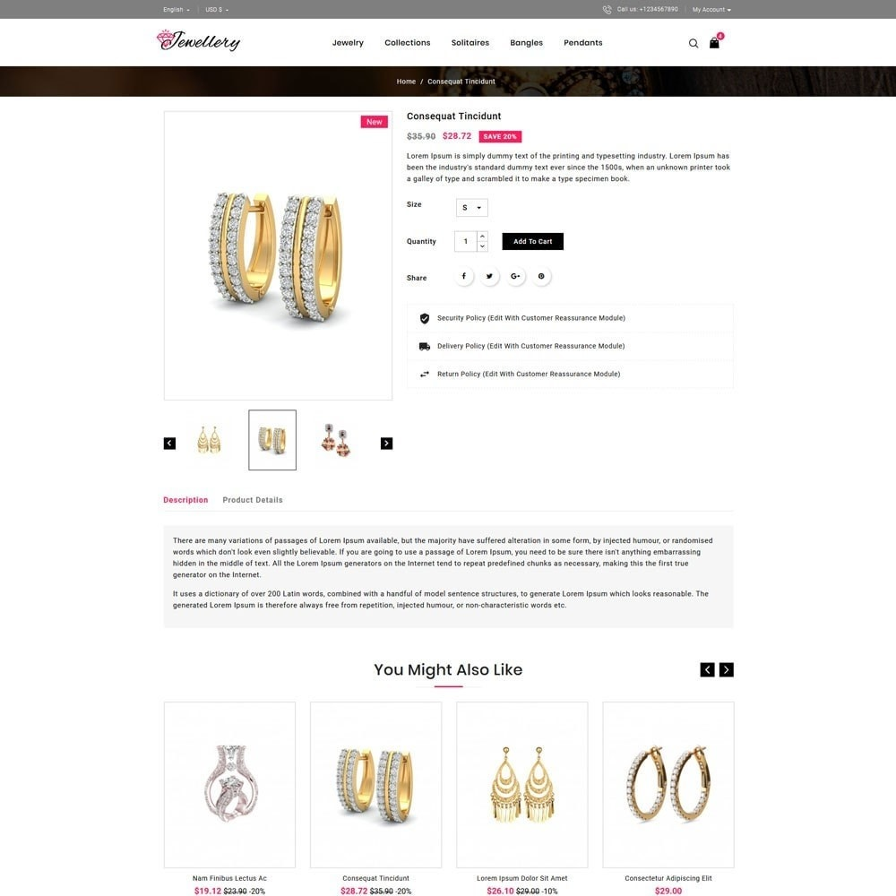theme - Jewelry & Accessories - Jwellery Store - 4