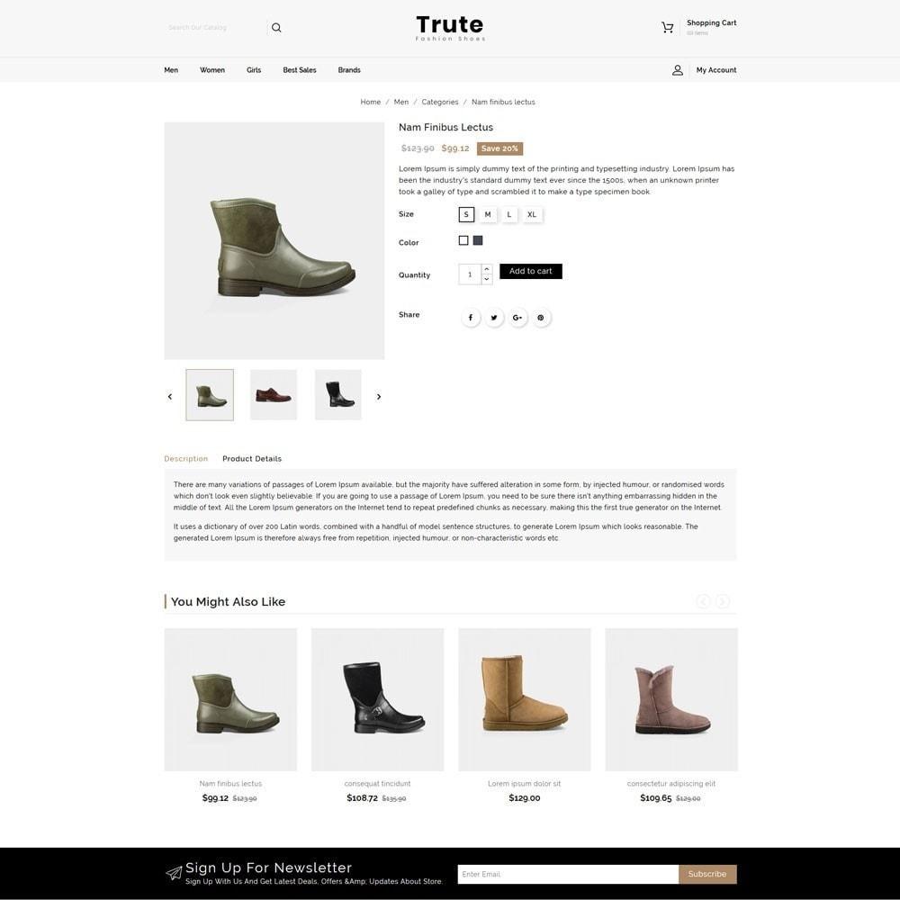 theme - Fashion & Shoes - Trute Shoes store - 4