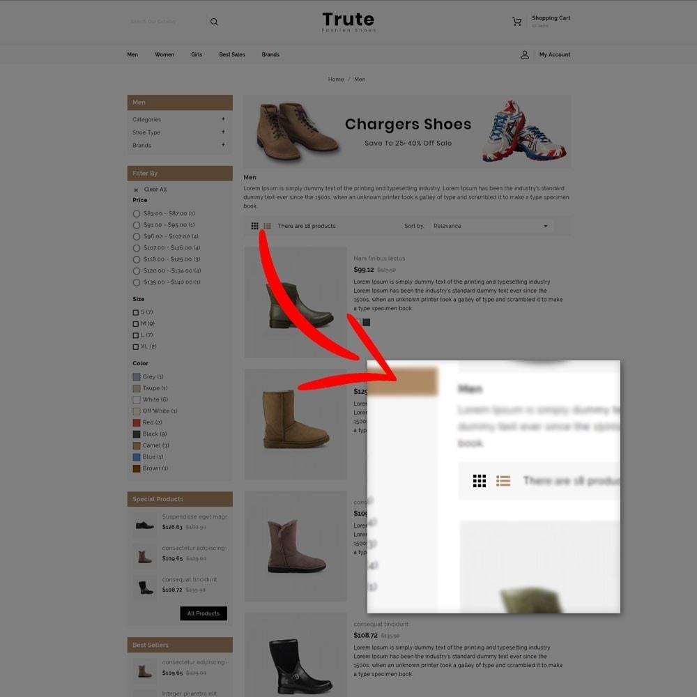 theme - Fashion & Shoes - Trute Shoes store - 5