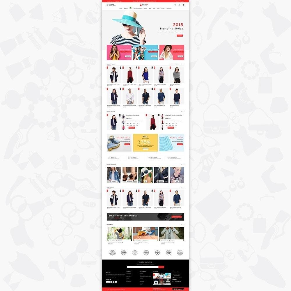 theme - Fashion & Shoes - Glamora - Fashion Store - 2