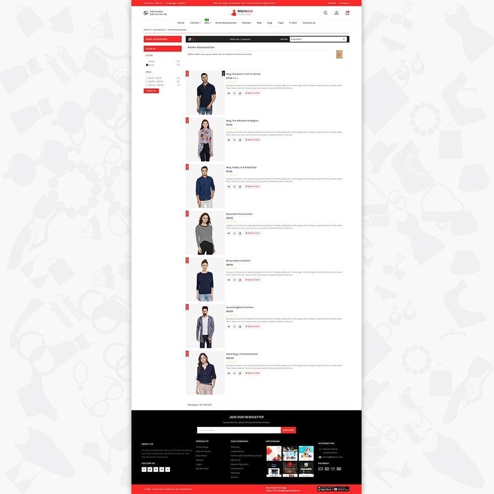 theme - Fashion & Shoes - Glamora - Fashion Store - 4
