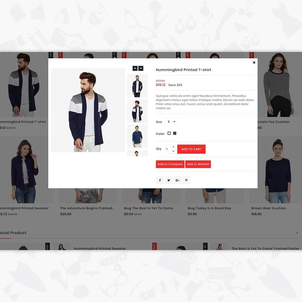 theme - Fashion & Shoes - Glamora - Fashion Store - 7