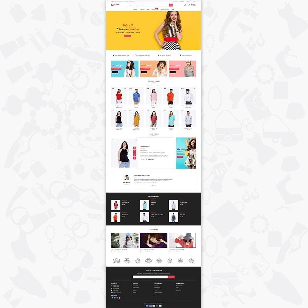 theme - Fashion & Shoes - Stylexa - The Fashion Store - 2