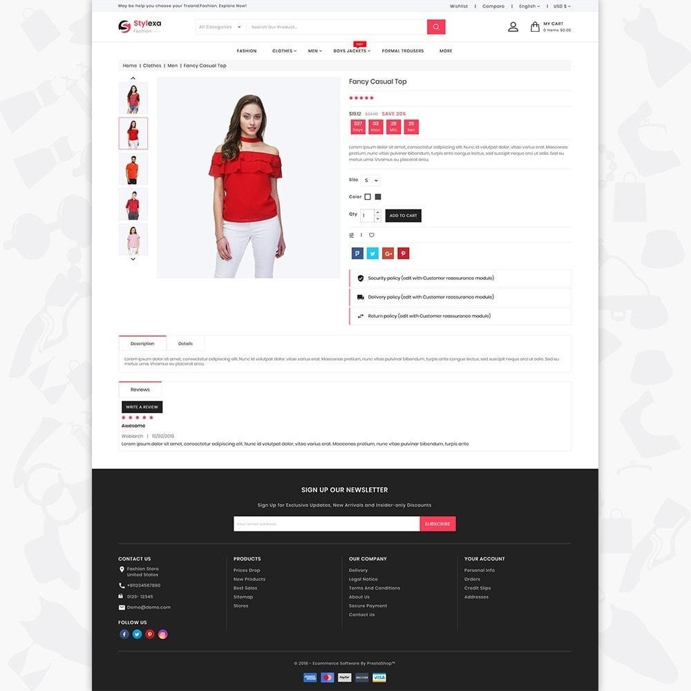theme - Fashion & Shoes - Stylexa - The Fashion Store - 5