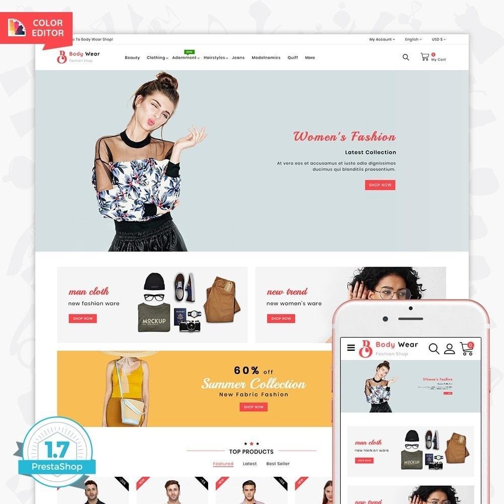 theme - Fashion & Shoes - BodyWear - The Fashion Store - 1