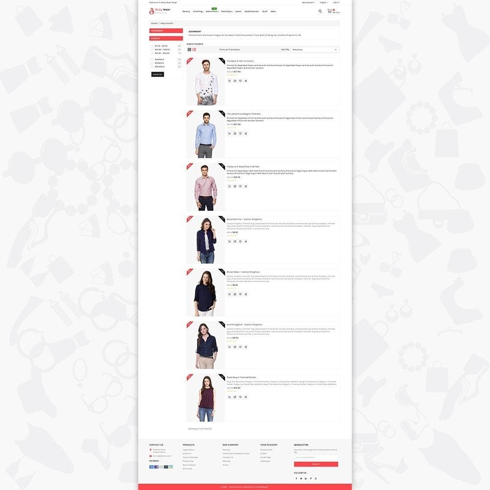 theme - Fashion & Shoes - BodyWear - The Fashion Store - 4