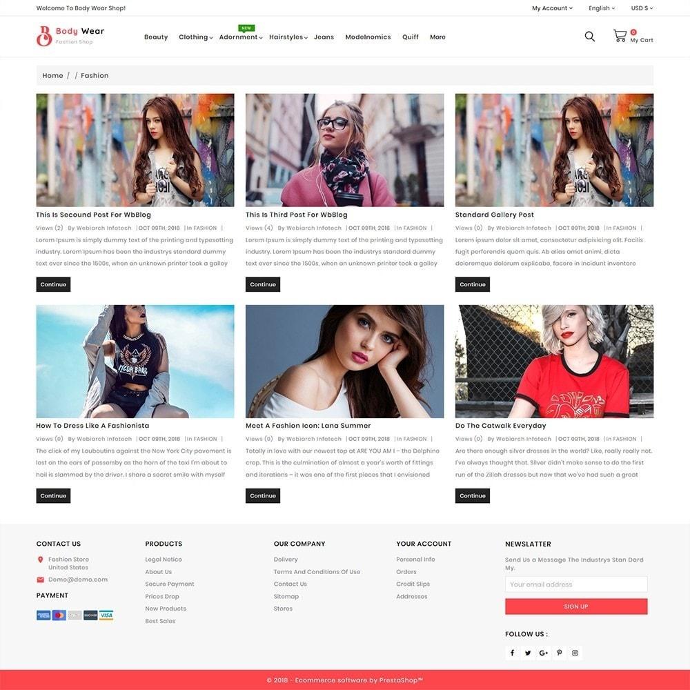 theme - Fashion & Shoes - BodyWear - The Fashion Store - 6