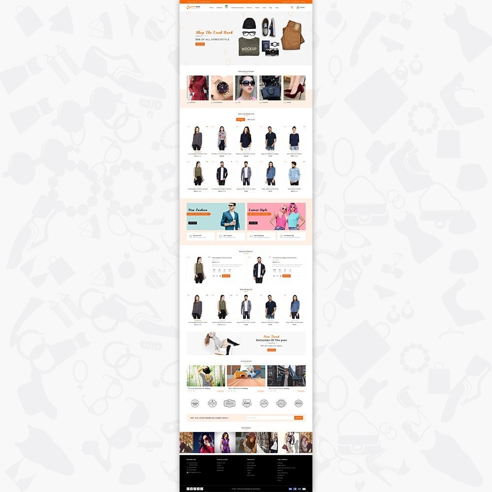 theme - Fashion & Shoes - Glamwear The Best Fashion Store - 2