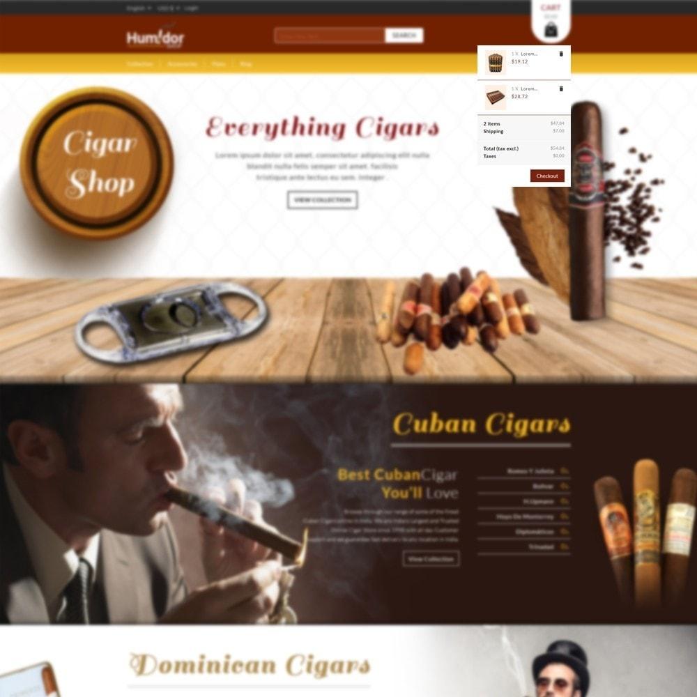theme - Напитки и с сигареты - Humidor - Cigar Store - 6