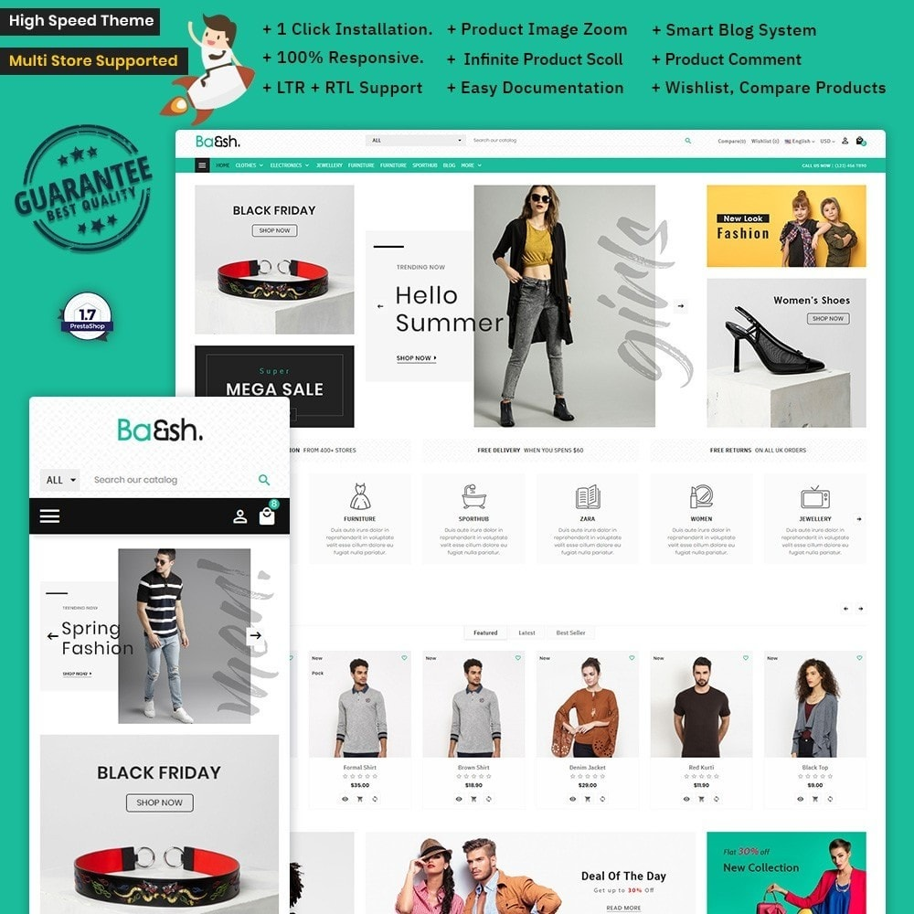 theme - Fashion & Shoes - Baesh Fashion – Fashion Big Mall - 1