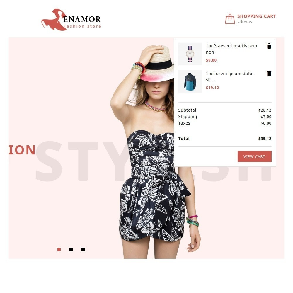 theme - Fashion & Shoes - Enamor Fashion Shop - 7