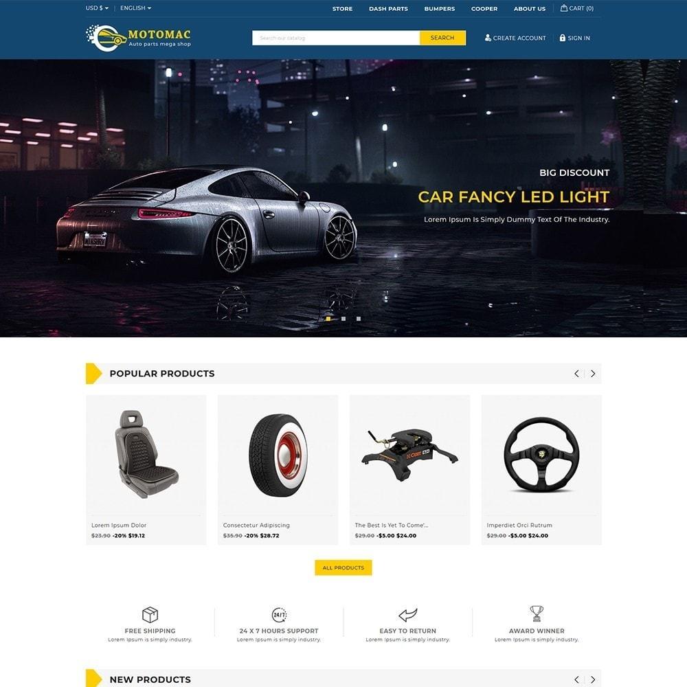 theme - Automotive & Cars - Motomac Autoparts Shop - 1