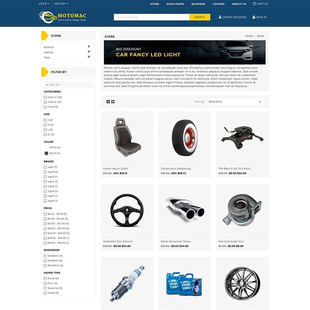 theme - Automotive & Cars - Motomac Autoparts Shop - 3