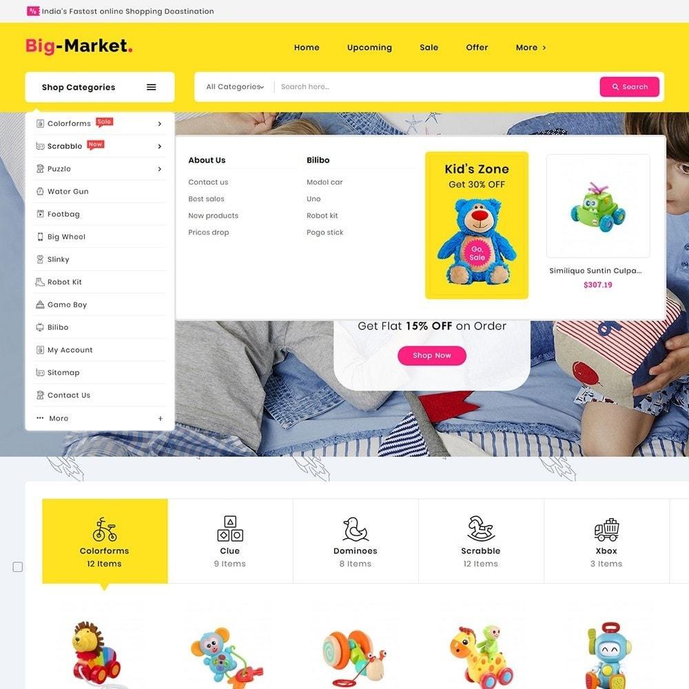 theme - Crianças & Brinquedos - Mega Market Kid Toys - 9