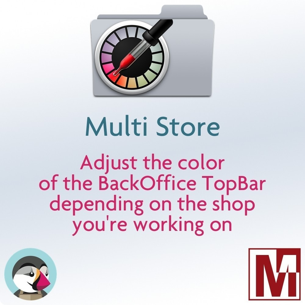 module - Administrative Tools - Multi Shop - Customized TopBar Backoffice Color - 1