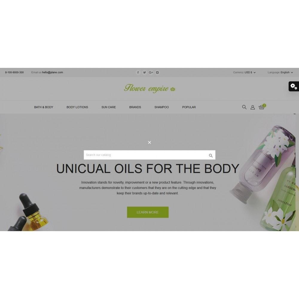theme - Health & Beauty - Flower empire Cosmetics - 10