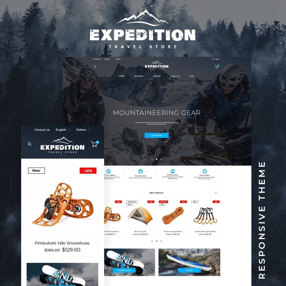 theme - Sports, Activities & Travel - Expedition - 1