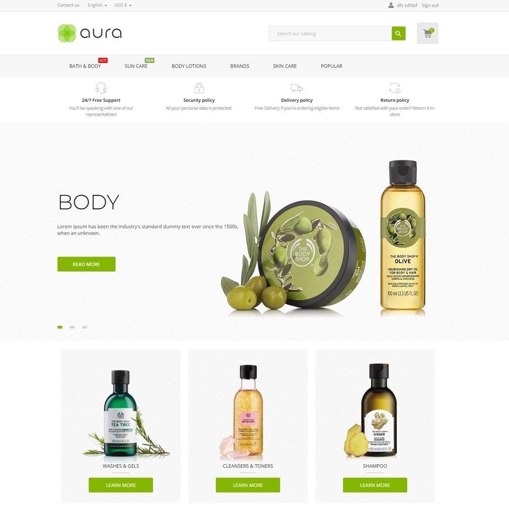 theme - Health & Beauty - Aura Cosmetics - 2