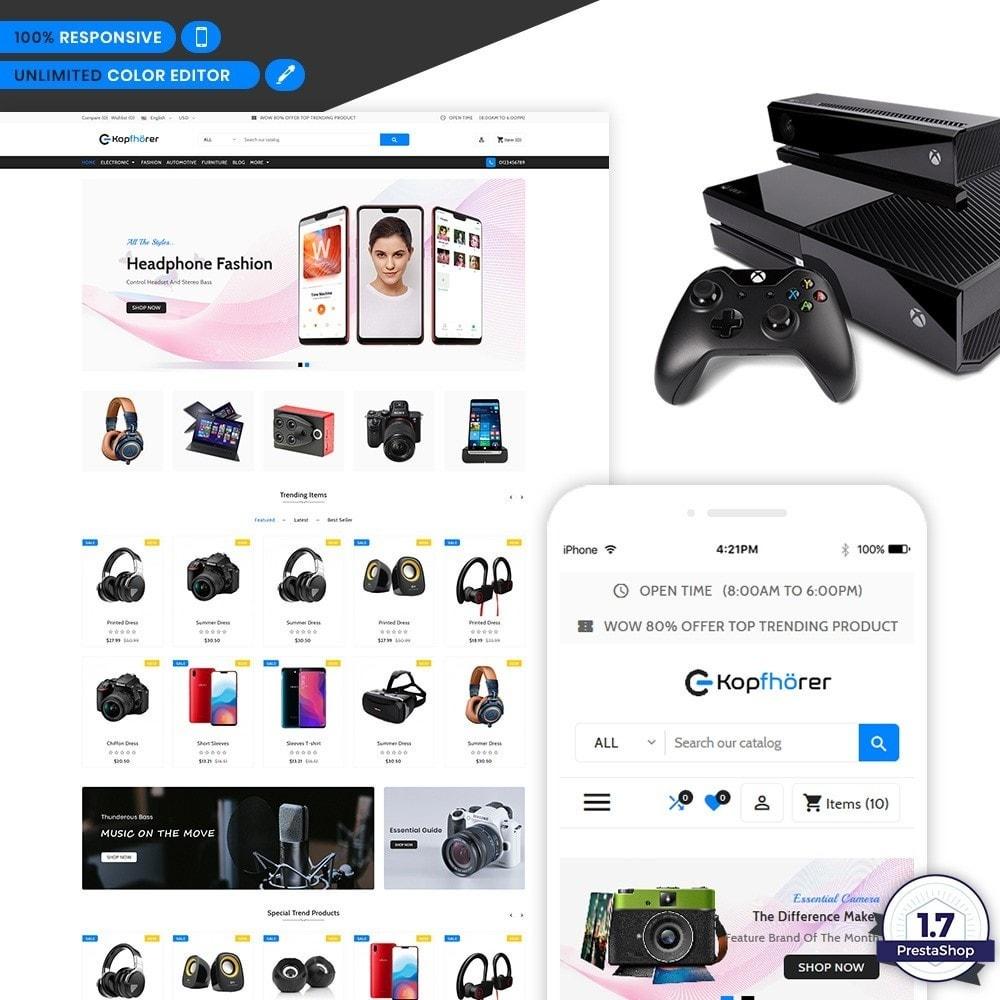 theme - Electronics & Computers - Kopfhorer - Electronic Shop - 1