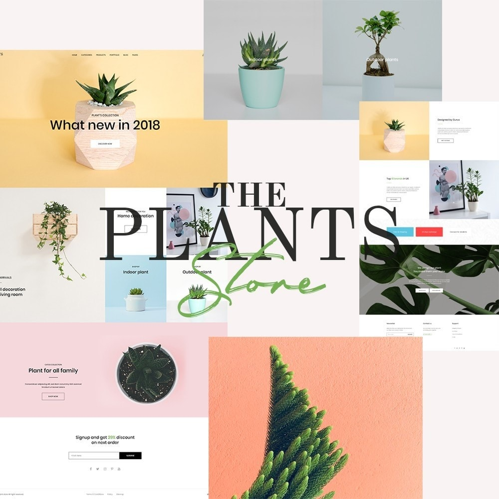 theme - Home & Garden - Plant Store - Gardening & Houseplants - 2